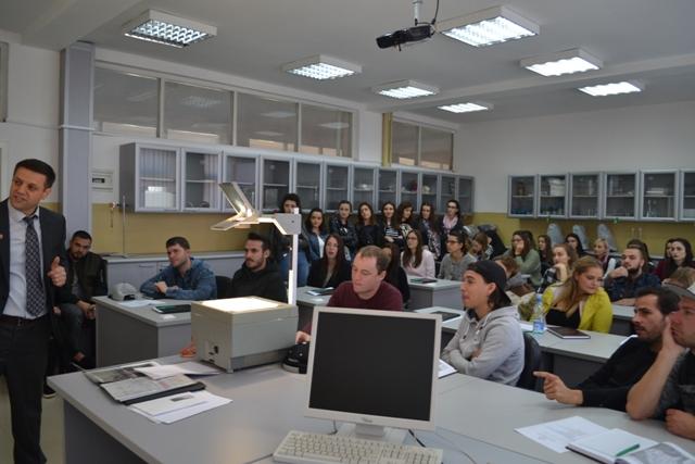 Studentët nga Universiteti i ZUG-ut të entuziazmuar me UKZ-në
