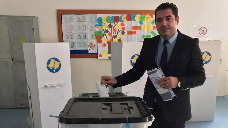 Voton Bajram Hasani i NISMA-s