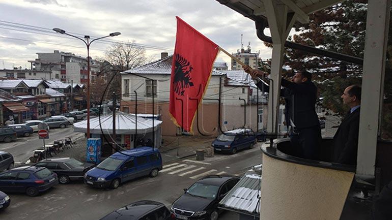 Bujanoc: Solemnisht vendoset Flamuri në Këshillin Kombëtar Shqiptar