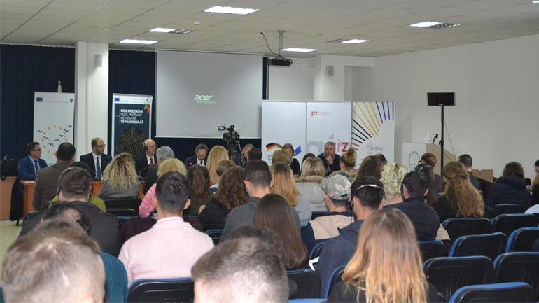 UKZ dhe GIZ/DIMAK kanë mbajtur ditën informuese për migrimin