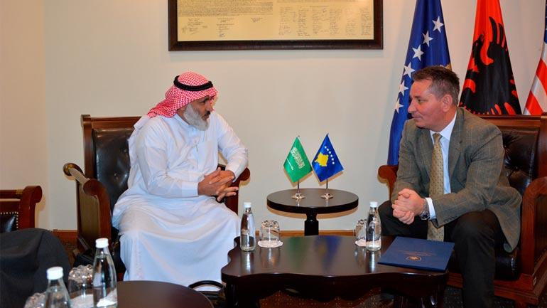 Ministri Lekaj u takua me përfaqësuesit e Fondit për Zhvillim të Arabisë Saudite