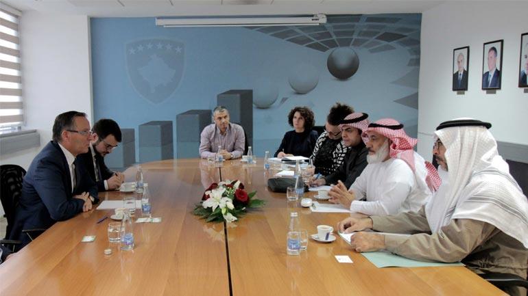 Ministri Bedri Hamza priti delegacionin e Fondit Saudit për Zhvillim (SFD)