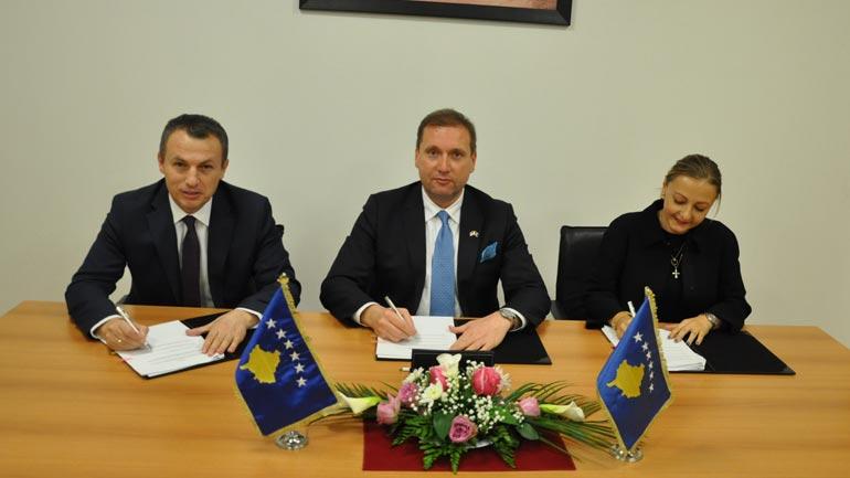 Marrëveshje Bashkëpunimi në fushën e riintegrimit e të riatdhesuarve në Programin e Vetëpunësimit