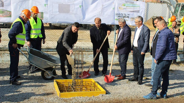 Gjilani nis rindërtimin e stadiumit të qytetit – kosto 6 milionë euro
