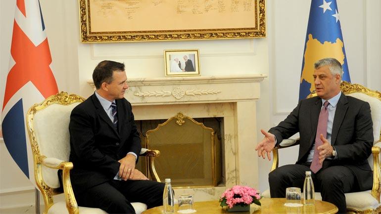 Vlerësohet shumë përkrahja e vazhdueshme e Britanisë së Madhe për Kosovën