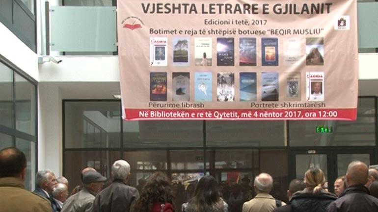 Vjeshta letrare: Këtë të shtune shtjellohet krijimtaria letrare e Agim Gjakovës