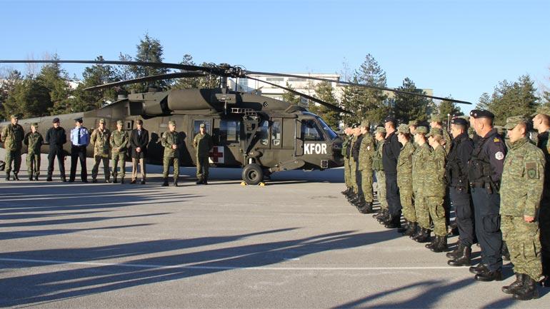 Certifikohen pjesëtarë të Forcë së Sigurisë së Kosovës dhe Policisë së Kosovës