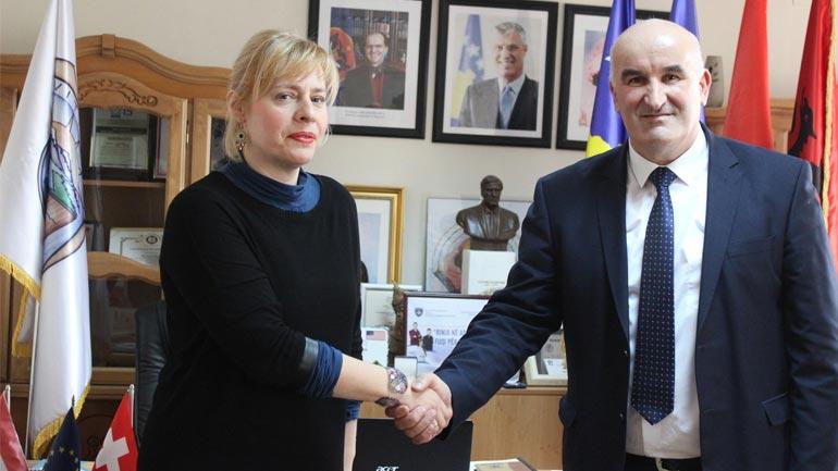 Kreu i Vitisë Sokol Haliti priti në takim ambasadoren kroate Marija Kapitanović