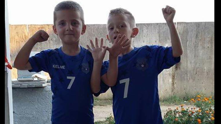 Lioni e Amari, ëndërrojnë që një ditë të jenë futbollist profesionist në ekipe me emër