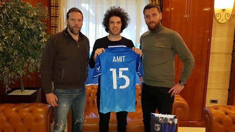 Mesfushori i ri Amit Guluzade i bashkohet Dritës