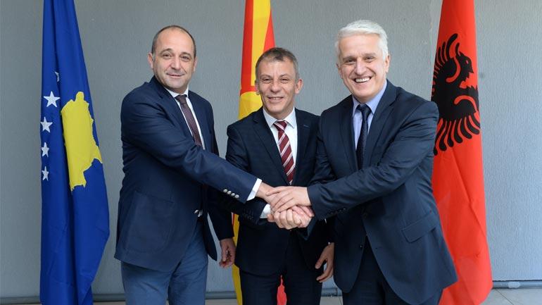 Takim i përbashkët i ministrave të Diasporës të Maqedonisë, Shqipërisë dhe Kosovës