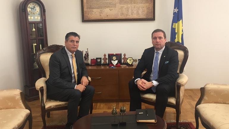 Ministri i Punëve të Brendshme Flamur Sefaj dënon vrasjen e Oliver Ivanoviqit