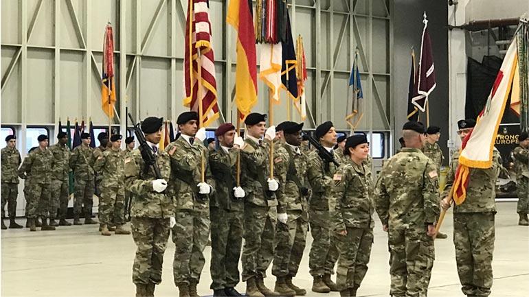 Komandanti i FSK-së merr pjesë në ceremoninë e ndërrimit të Komandës së Ushtrisë Amerikane për Evropë