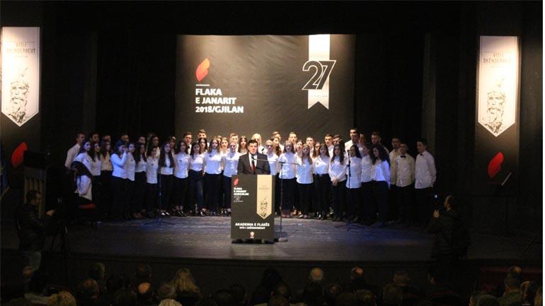 Gjilani po i bashkëngjitet festës së madhe të shqiptarëve në Ballkan në shënimin e vitit të Skënderbeut