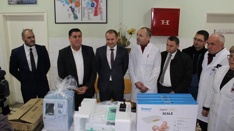 IPKO jep donacion mbi 10 mijë euro pajisje shëndetësotre për QKMF-në e Gjilanit