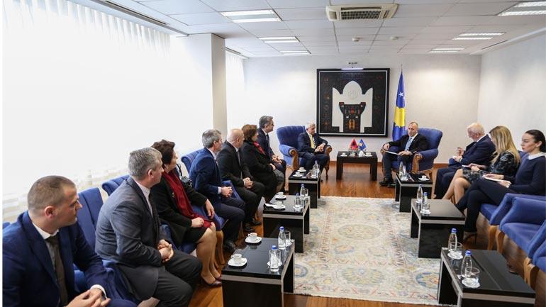 Haradinaj falënderon qytetarët e Kukësit për mbështetjen dhënë Kosovës në të gjitha etapat historike