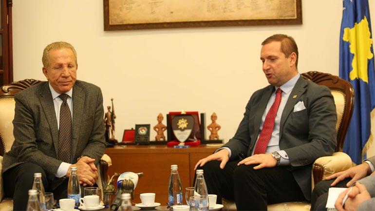 Ministri i Punëve të Brendshme Flamur Sefaj priti zëvendëskryeministrin Behgjet Pacolli