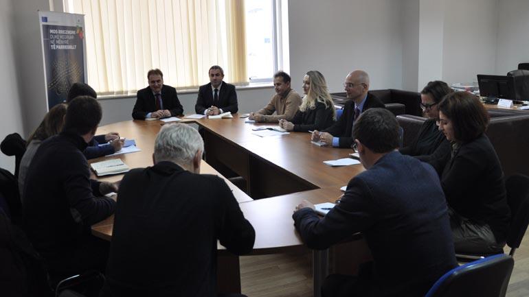 Zëvendësministri Zeka takoi partnerët ndërkombëtar në fushën e migrimit