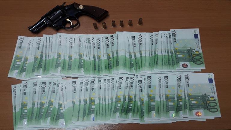 """Arrestohen tre të dyshuar për konsumim të veprës penale """"Falsifikim i parasë"""""""
