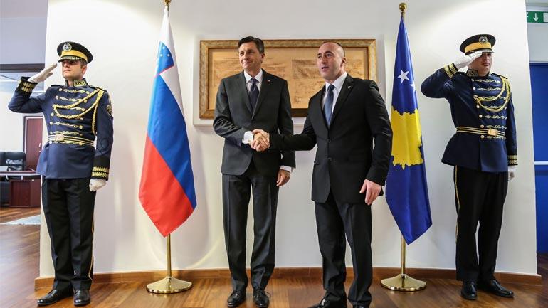 Kryeministri Haradinaj priti Presidentin e Republikës së Sllovenisë, Pahor