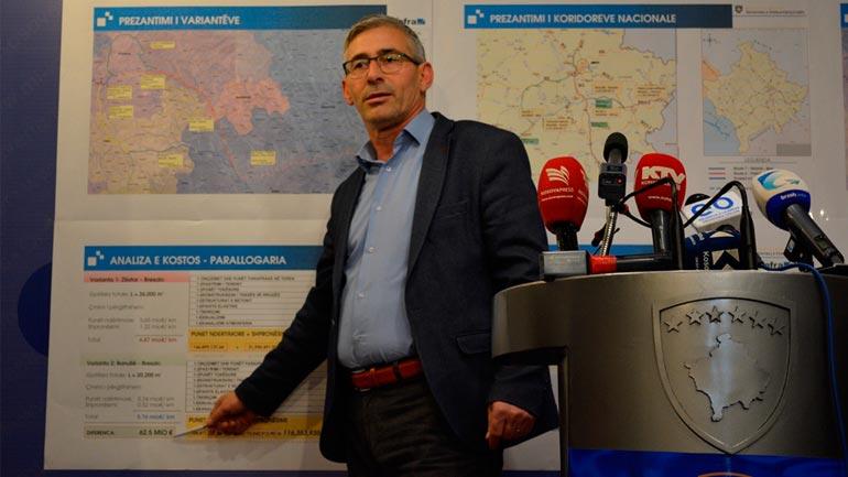 Kadriu: Autostrada Gjilan – Prishtinë nis më 15 prill, gurthemeli i saj në Verbicë të Zhegocit