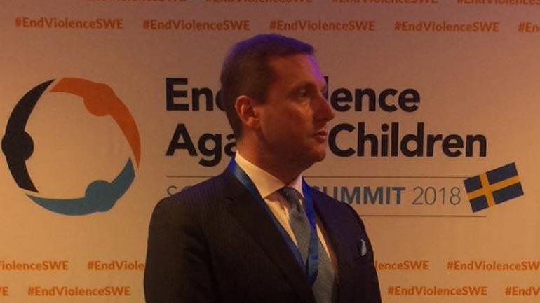 Ministri Sefaj morri pjesë në Samitin Ministror për parandalim të dhunës ndaj fëmijëve