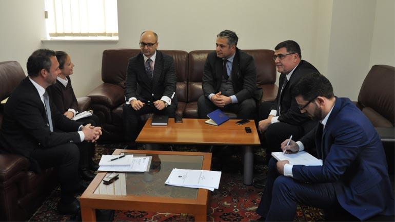 Zëvendësministri Selami Shkodra priti në takim përfaqësuesit e EMCDDA