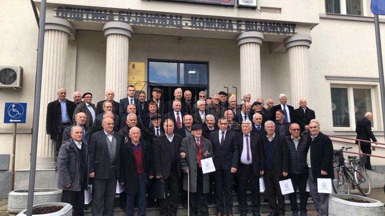 Veteranët e arsimit i nderoi kryetari i komunës së Bujanocit