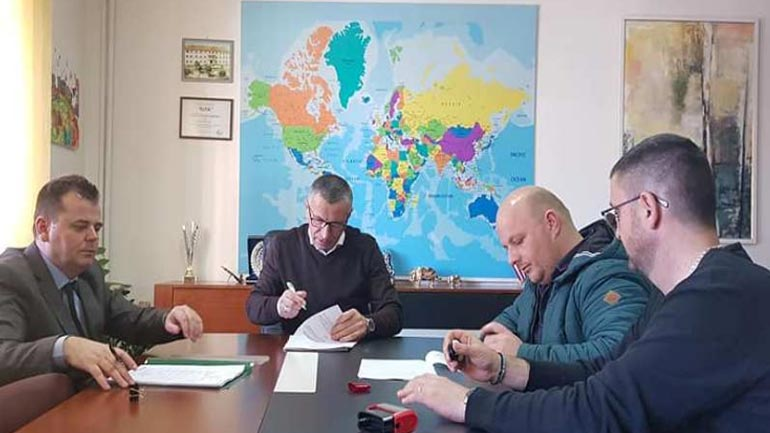 Komuna e Bujanocit nënshkruan projekte infrastrukturore lokale