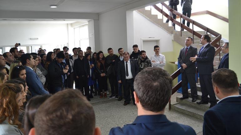 """Nën moton """"Krijojmë Partneritet"""" Fakulteti Ekonomik  ka shënuar 5 vjetorin e themelimit të UKZ-së"""