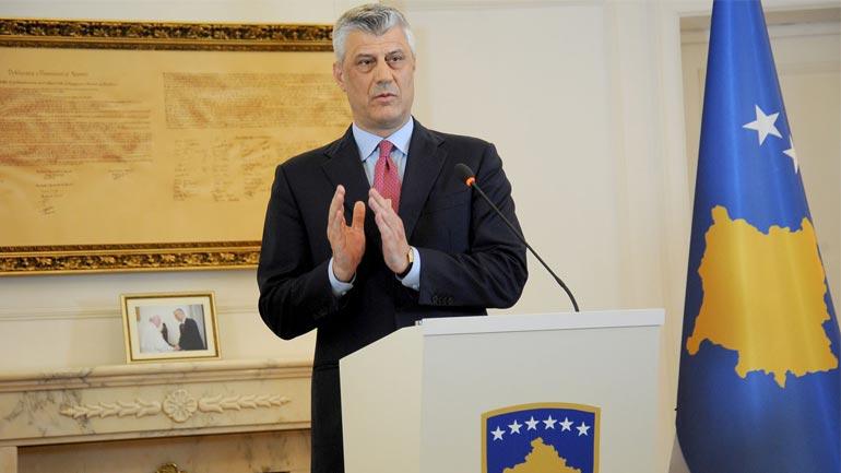 Thaçi: Kosova mbështet përpjekjet e shteteve perëndimore për t'i dhënë fund regjimit të Asadit dhe luftes në Siri