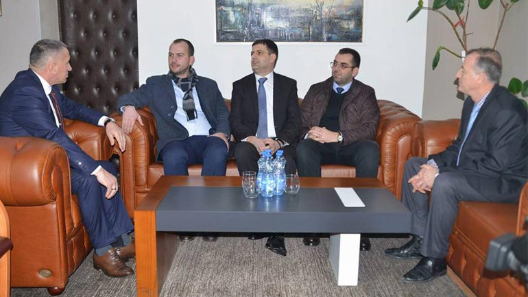 Kryetari Qëndron Kastrati me bashkëpunëtorë vizitoi Bujanocin
