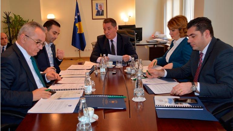 """U mbajt takimi i radhës i Komitetit Drejtues Ndërministror për zhvillimin e Projektit """"Rruga 6"""""""