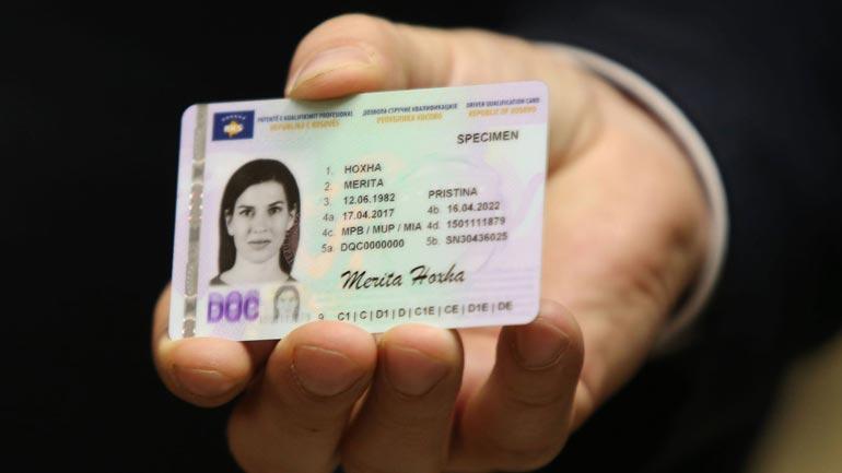 Ministria e Punëve të Brendshme lëshon patentë-shoferët me dizajn të ri