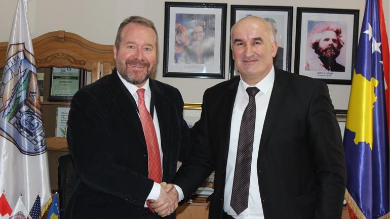 Kreu i Vitis takon drejtorin e ri të Qendrës Regjionale të OSBE-së në Gjilan