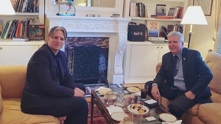 Arifi takim me ambasadorin amerikan në Beograd, sfidon Këshillin Kombëtar Shqiptar!
