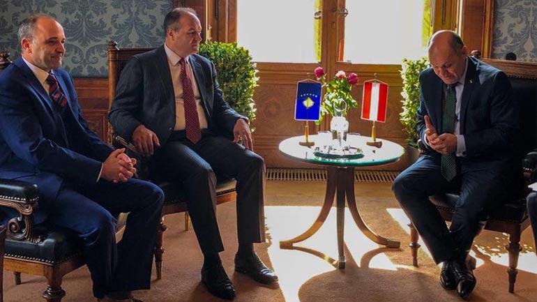 Gashi: Austria konfirmon mbështetjen e fuqishme për Kosovën