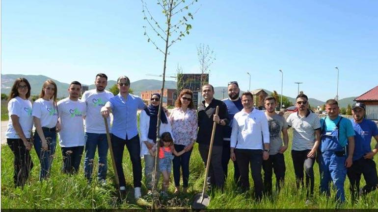Presheva nis aksionin e mbjelljes së 200 fidanëve