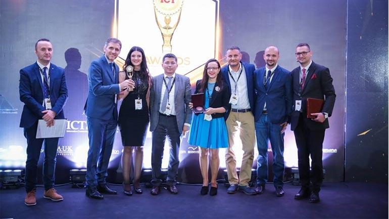 """MPB në bashkëpunim me kompaninë """"Veridos"""" ka fituar çmimin """"ICT shpërblimi publik më i mirë  i vitit"""""""