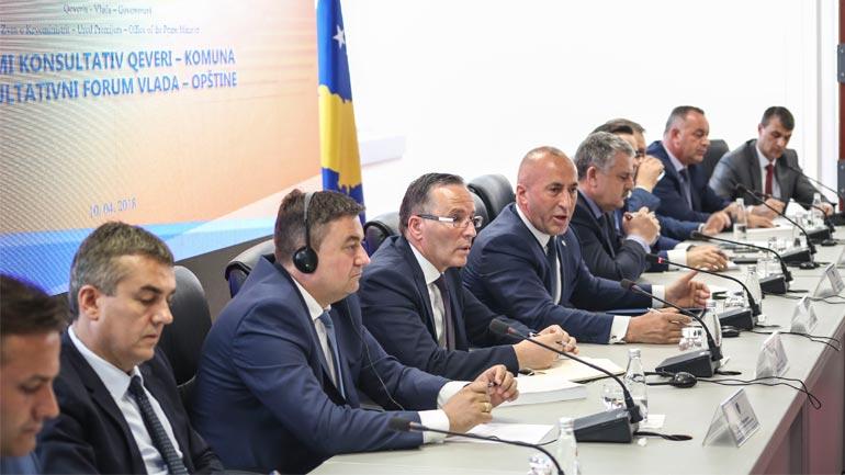 Haradinaj: Me Komunat duhet krijuar një partneritet i ri për tejkalimin e sfidave dhe zhvillimin e tyre