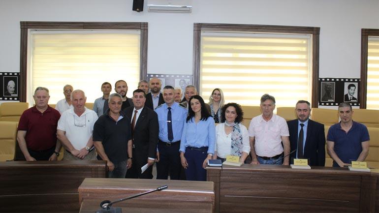 Konstituohet KKSB në Gjilan, gjendja e sigurisë vlerësohet e qetë dhe stabile