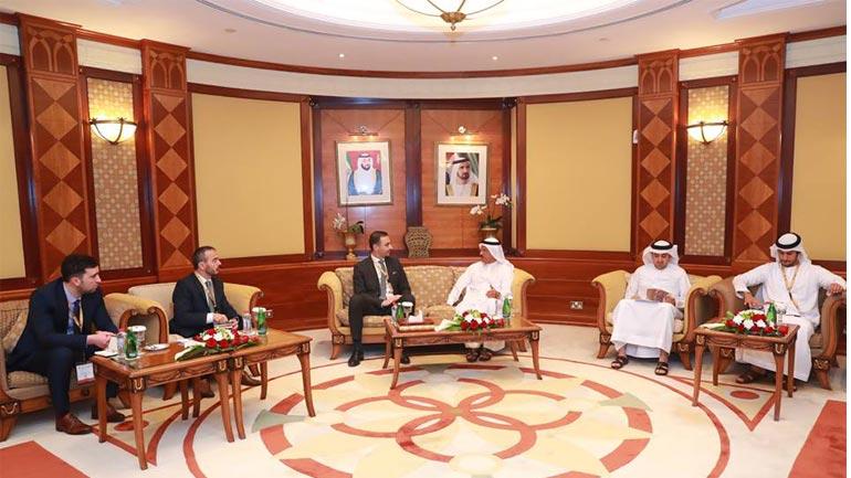 Ministri Lluka morri pjesë në 'Konferencën Vjetore të Investimeve' në Emiratet e Bashkuara Arabe