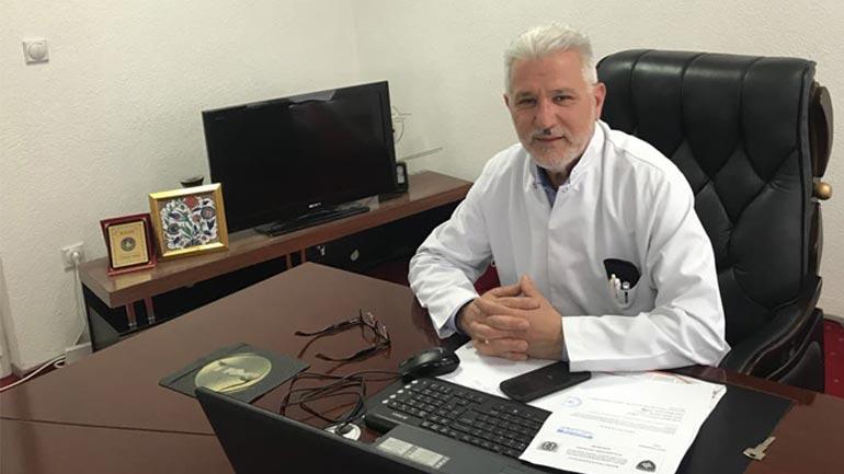Nisret Hajrullahu nis punën si drejtor i Spitalit të Gjilanit