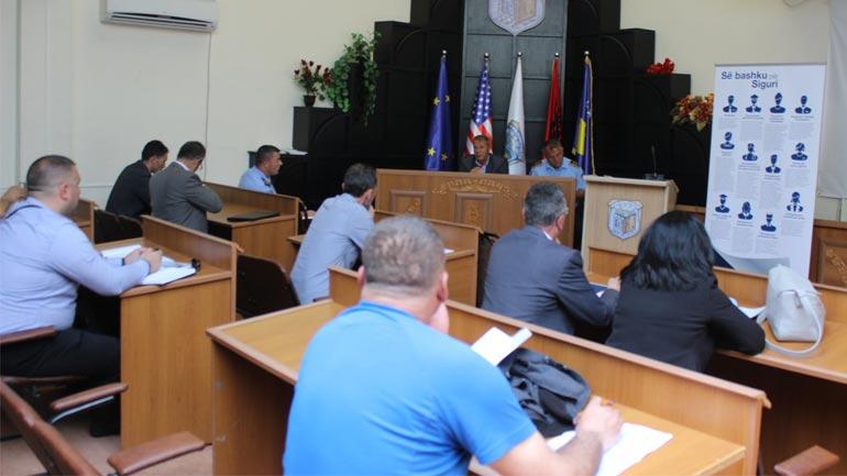 U mbajt mbledhja e dytë e Këshillit Komunal për Siguri në Bashkësi