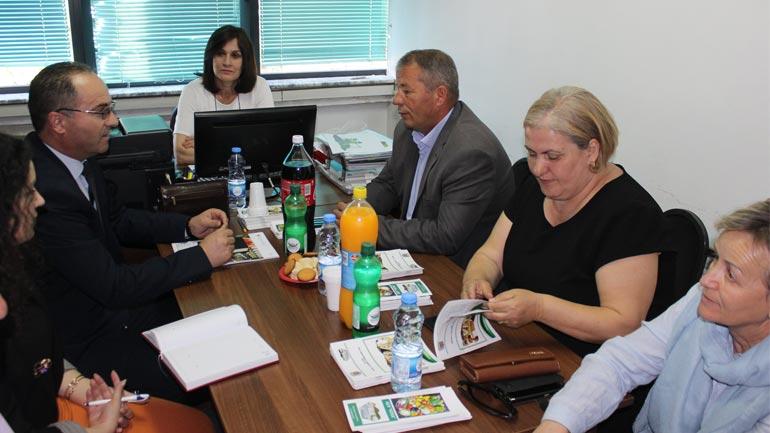 """Zëvendësministri i Bujqësisë vizitoi Grupin e Veprimit Lokal """"Vitia"""""""