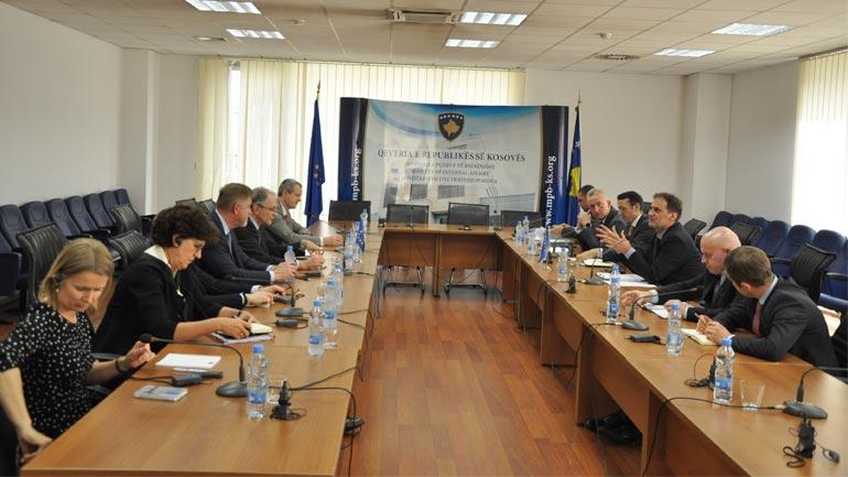 Zëvendësministri Zeka priti një delegacion të BE-së