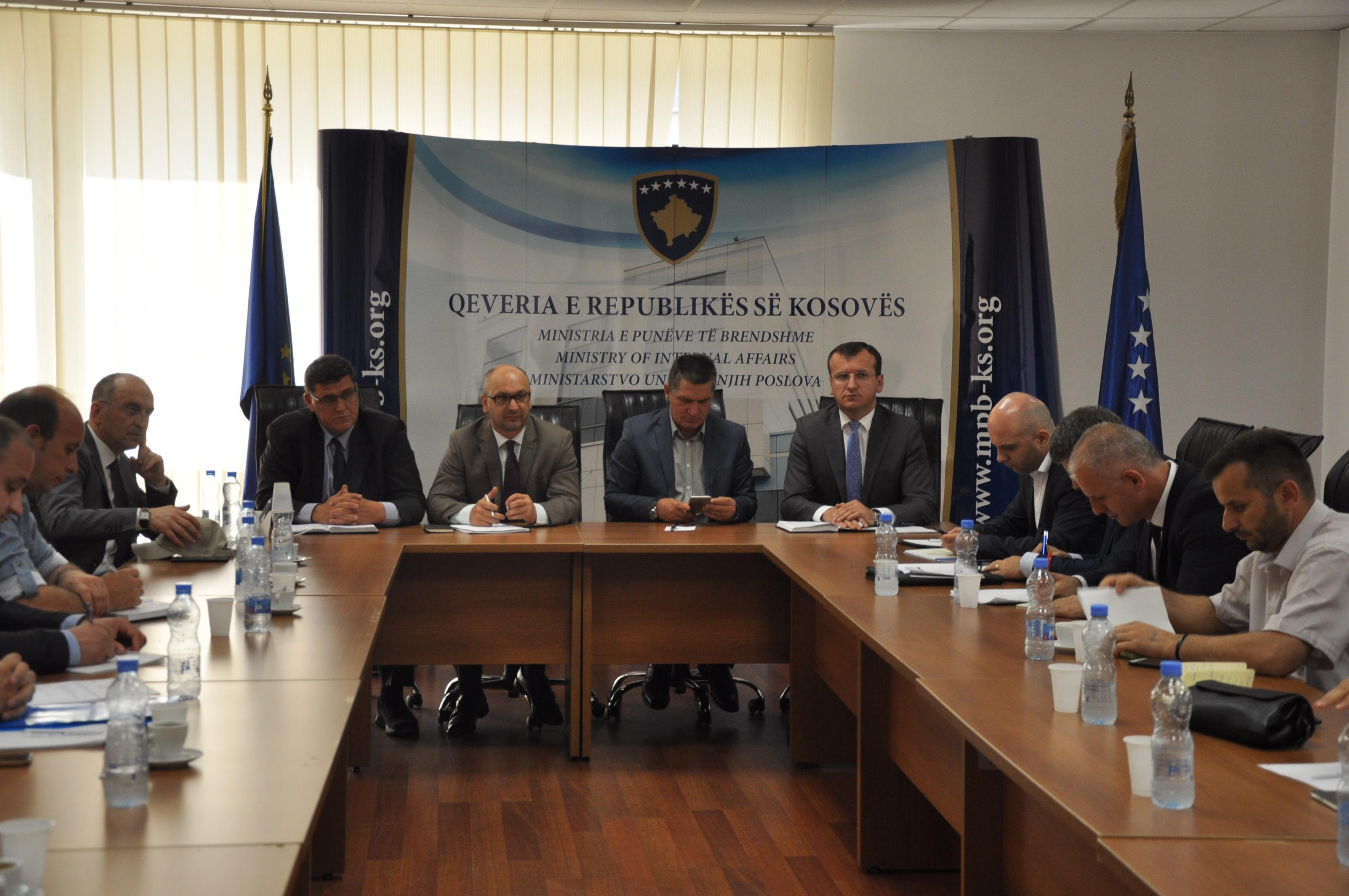 U mbajt takimi i radhës i këshillit shtetëror për siguri kibernetike