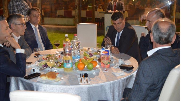 Këshilli i Bashkësisë Islame në Gjilan shtroi sofrën e iftarit