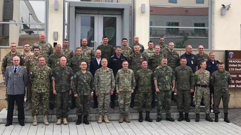 Gjenerallejtënant Rrahman Rama merr pjesë në Konferencën e Shefave të Mbrojtjes në Gjermani