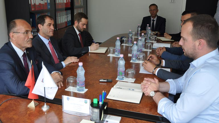 Ministri Gashi vizitoi komunën e Kamenicës
